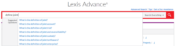 Lexis® Answers